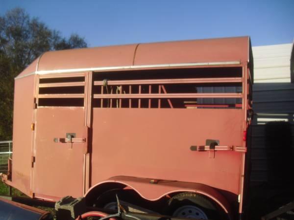 Photo Bumper Pull 2 Horse Slant Load Horse Trailer - $4,200 (Inman, SC)