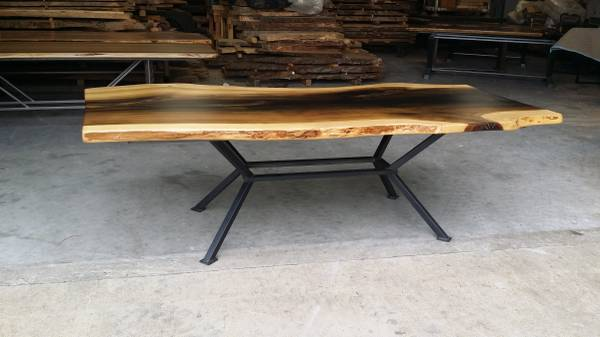 Photo Custom Metal Dining Table Base (Table top not included) - $500 (Travelers Rest)