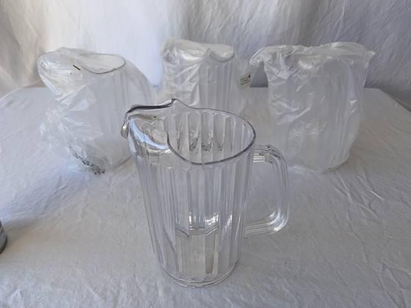 Photo Drink Water Pitcher Jug x 10 - $22 (Simpsonville)