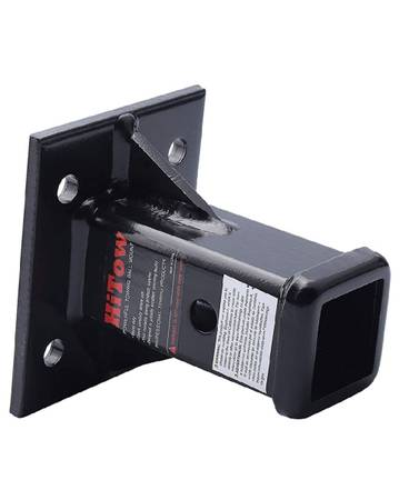 Photo Hitow 2-in bolt-on receiver brand new powder coated black - $35 (Piedmont)