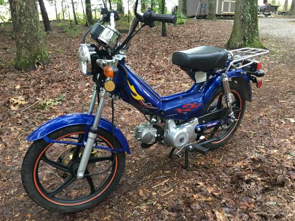 Photo Honda Cub 2014 49cc Scooter type Like New 568 Miles - $700 (GREENVILLE)