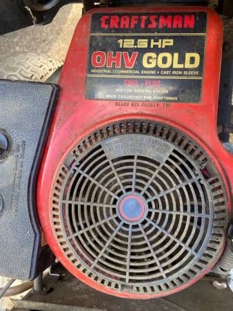 Photo I pick up unwanted lawn equipment