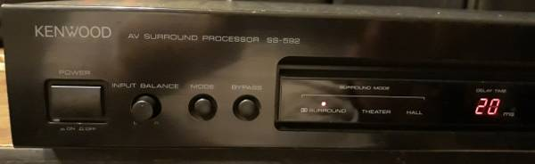 Photo KENWOOD SS-592 price drop Dolby surround processorlifier - $20 (Greenville)