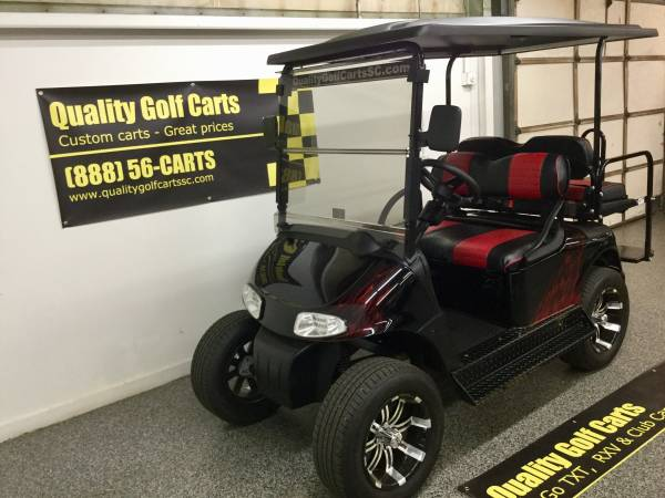 Photo Looking for a Street Legal golf cart Check out this Low Speed Vehicle - $9995 (Quality Golf Carts, Rock Hill, SC)