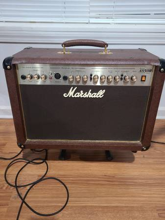Photo Marshall AS50R Acoustic Amp - $225 (Liberty)