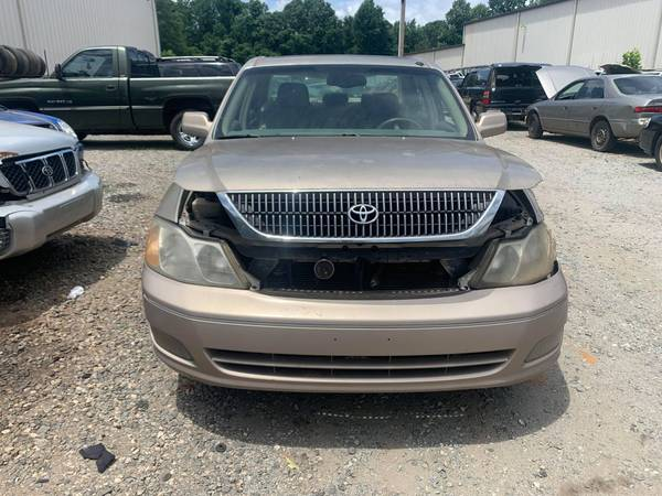 Photo PARTING OUT 01 AVALON 3.0 AUTO GOOD ENGINE  TRANSMISSION CALL US (FOREST CITY NC)
