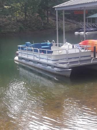 Photo River Cruiser 24 ft Pontoon - $2,495 (Lake Keowee - Seneca - SC24)