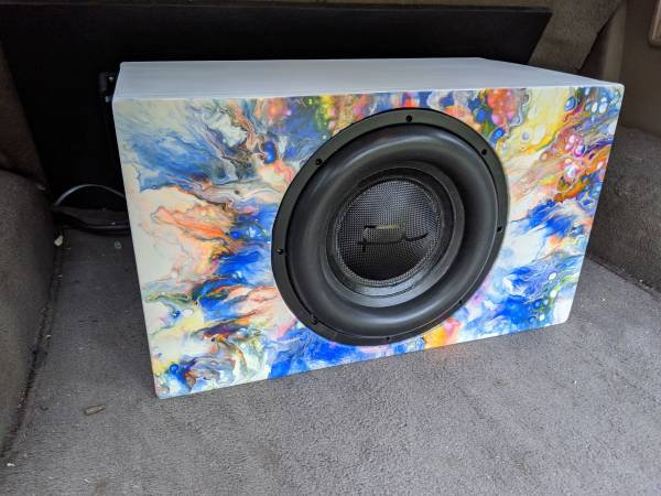 Photo Sealed sub box only, for a 12 - $150 (Easley)