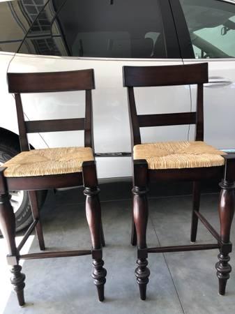 Photo Two Bar Stools - $200 (Seneca, SC)