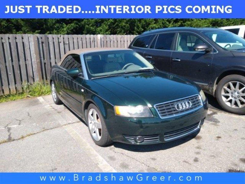 Photo Used 2005 Audi A4 1.8T Cabriolet for sale