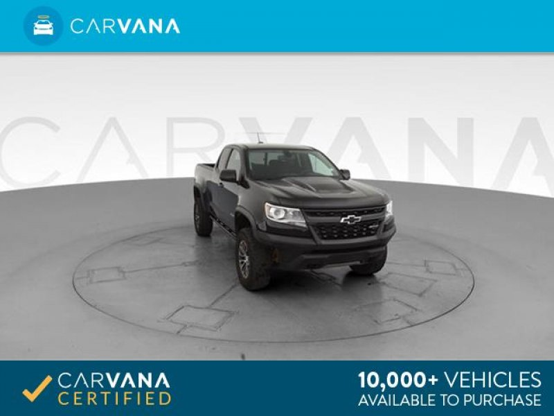 Photo Used 2017 Chevrolet Colorado 4x4 Extended Cab ZR2 for sale