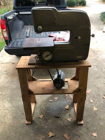 Photo Vintage Craftsman 12quot Band Saw 103.24300 - $300 (Central)