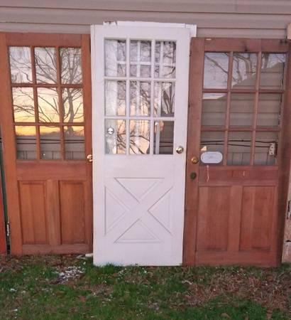 Photo Vintage Half Glass Doors - $165 (Spartanburg)