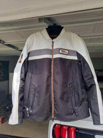 Photo Womens Harley Davidson Riding Jacket- 2XL- $90 OBO - $90 (Laurens)