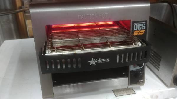Photo Working Star Holman Commercial Conveyor Toaster Oven Bread, Bagels - $280 (Greenville)