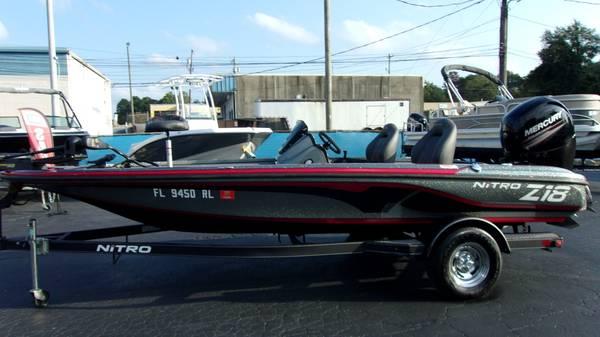 Photo - 2017 Nitro Z-18 Bass Boat - - $26,250 (SPARTANBURG)