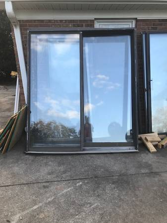 Photo sliding glass doors - $300 (Boiling Springs SC)