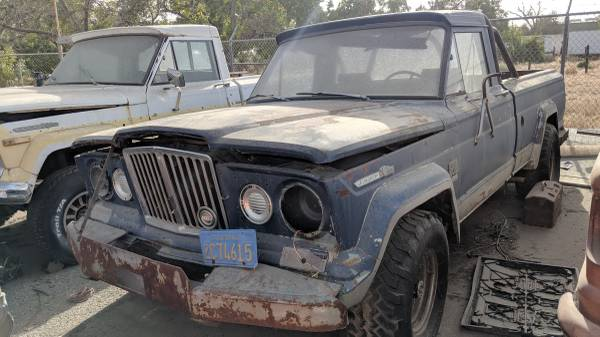 Photo 1967 Jeep Gladiator J2600 - $3500