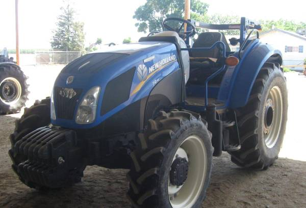 Photo 2014 New Holland T4.75 MFWD tractor for sale- PTO, Excellent Condition - $22500