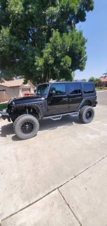 Photo 2017 Custom Jeep Wrangler - $40,000 (Hanford)
