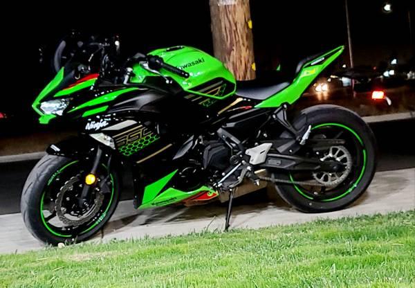Photo 2020 Kawasaki Ninja 650 KRT Edition ( Motorcycle for sale) - $8,000 (Fresno)