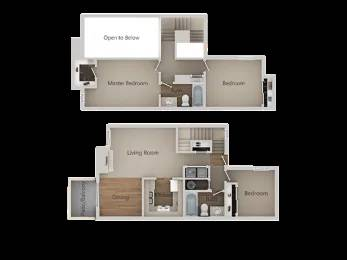 Photo 3 Bed Town Home With Laundry and Attached Garage Coming In September (580 West Fargo Avenue, Hanford, CA)