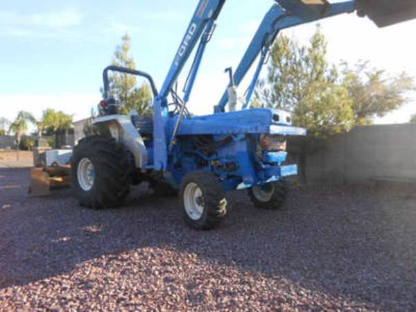 Photo Ford 3415 2WD Agricultural Tractor with Box Scraper (Call Us About Our Lay-A-Way Program Today)
