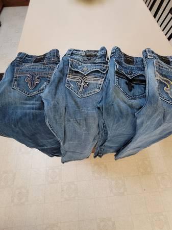 Photo Jeans rock revival - $25 (Hanford)