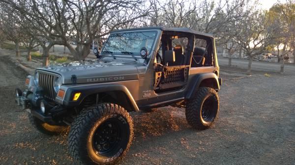 Photo Jeep Wrangler Rubicon 2004 - $20,000 (Lemoore)
