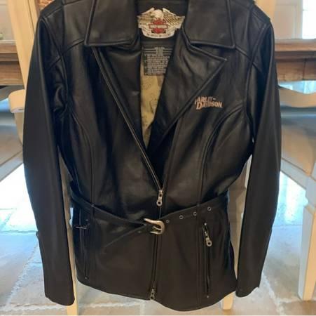 Photo New Harley-Davidson Black biker Leather Size Small Jacket - $199 (san luis obispo)