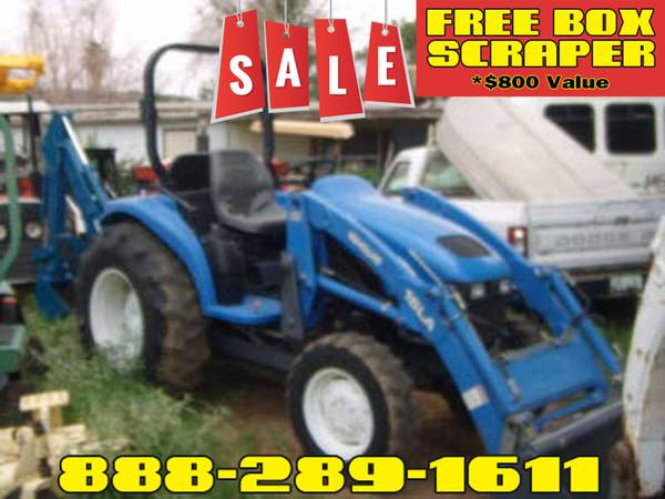 Photo New Holland TC-40 Tractor (Call Us About Our Lay-A-Way Program Today)
