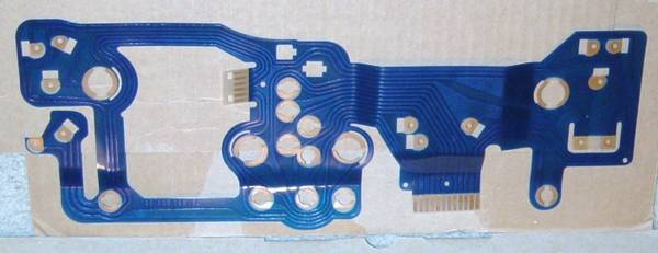 Photo Triumph TR7 and TR8 blue circuit board for the instrument cluster - $195 (Portland)