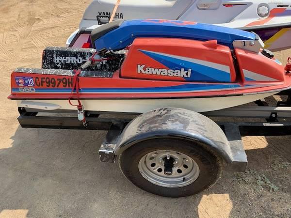 Photo kawasaki jet ski 85 550 - $1,400 (Clovis)