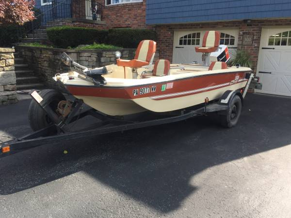 70 Lb Thrust Trolling Motor >> 1976 MFG Super Bass - $2300 (Somerset) | Boats For Sale ...