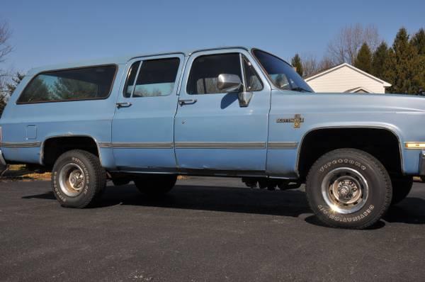 Photo 1986 Chevy Suburban - $7,500 (Middletown)