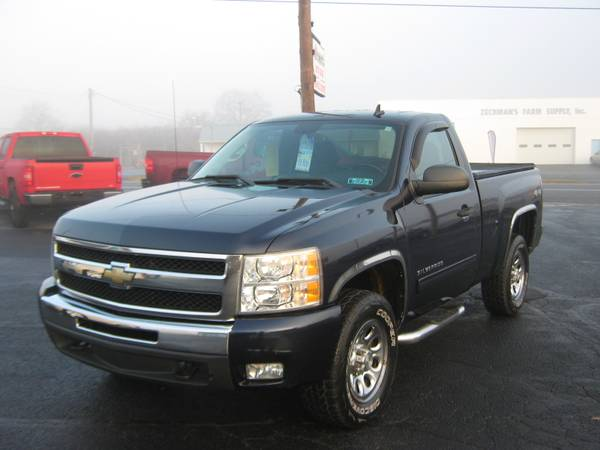 Photo 2011 chevy 1500 single cab short bed 4.8 V8 4x4 78,000 miles - $14900 (Selinsgrove)
