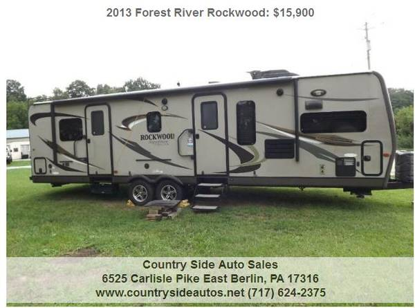 Photo 2013 Forest River Rockwood Signature Ultra Lite 8315BSS - $15,900 (Countryside Auto Sales)