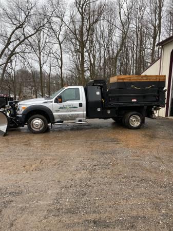 Photo 2016 Ford F550 XLT Dump Truck - $49,000 (Glen Rock)
