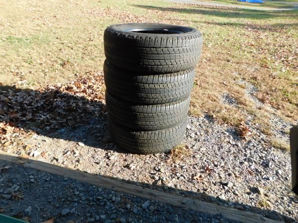 Photo 4 Goodyear Wrangler Truck Tires P26565R18 - $300 (Pine Grove Pa.)