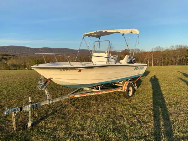 Photo Boat  18-Foot Sea Pro 180 Center Console with 115 HP Yamaha Motor - $8,000 (Carlisle)