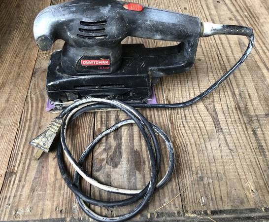 Photo Craftsman 13 Sheet Sander - $15 (C Hill)