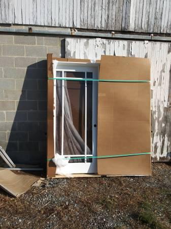 Photo Custom ordered hi end double open french doors half price - $1000 (Newberry)