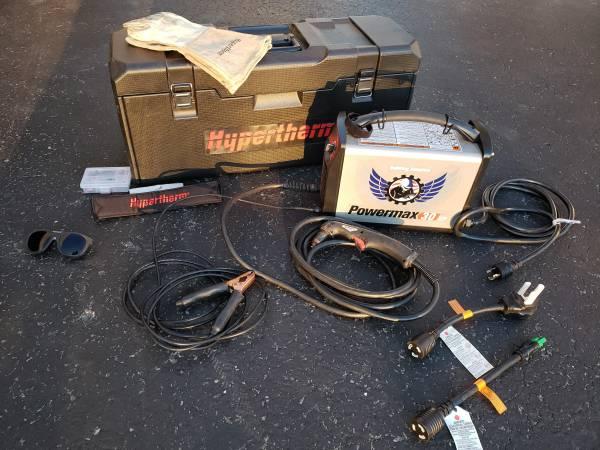 Photo Hypertherm Powermax 30XP Plasma Cutter - $1200 (Mechanicsburg)
