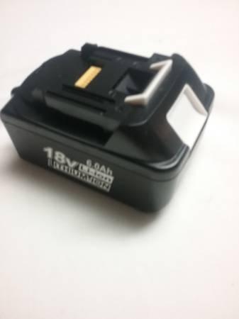 Photo MAKITA 18V 6.0ah. Replacement Battery - $25 (Dillsburg)