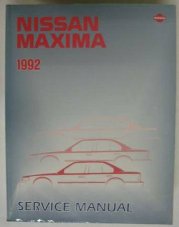 Photo Nissan Maxima Factory Service Tech shop manual, 89 - 94 models....NEW - $65 (Mechanicsburg)