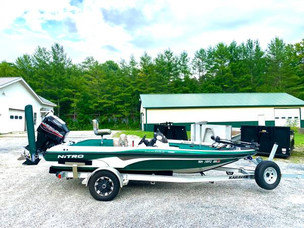 Photo Nitro Bass Boat - $15,700 (Harrisburg)