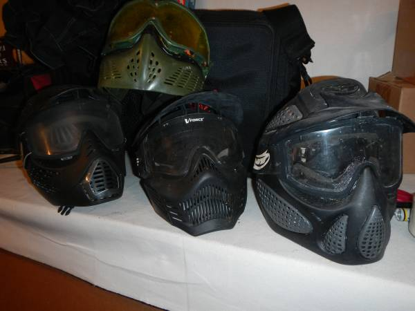Photo Paintball Gear Lot - $80