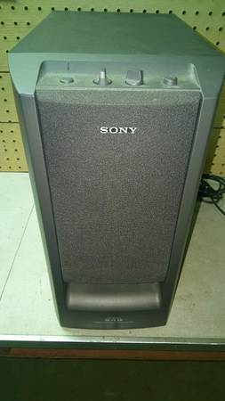 Photo Sony SA-W305G Subwoofer - $75 (Carlisle)