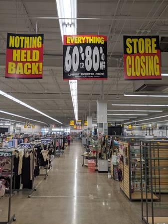 Photo Stein Mart Going out of business sale (Mechanicsburg)