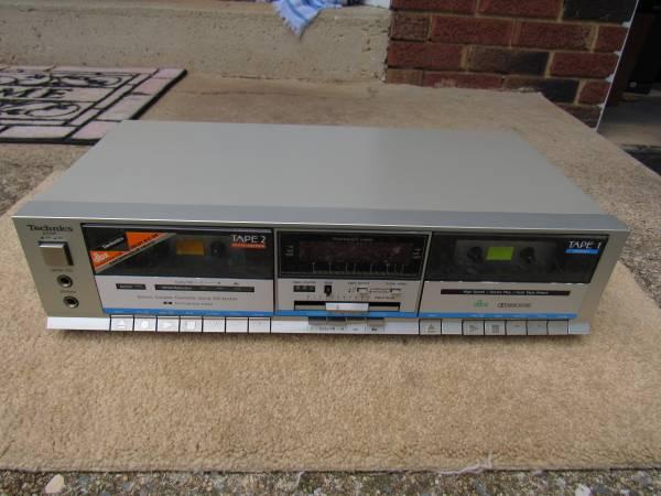 Photo Technics RS-B33W Stereo Dual Double Cassette Deck Vintage Works Great - $35 (Mechanicsburg  Lisburn)